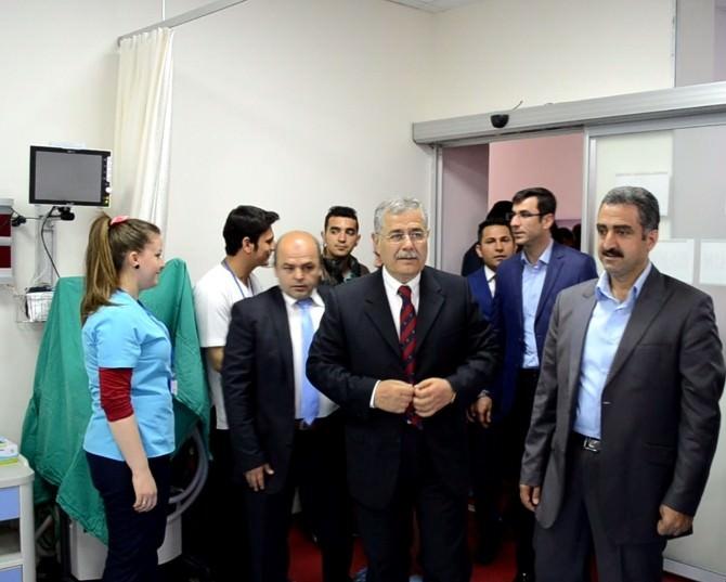 Adilcevaz Onkoloji Hastanesi'nde Yoğun Bakım Ünitesi Açıldı