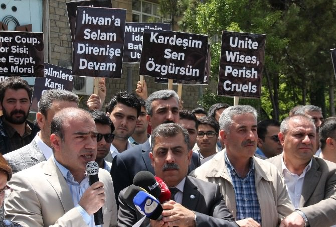 Elazığ'dan Mursi İçin Verilen İdam Kararına Tepki