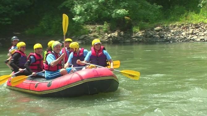 MÜSİAD Düzce Şubesi Geleneksel Rafting Şenliği Yapıldı