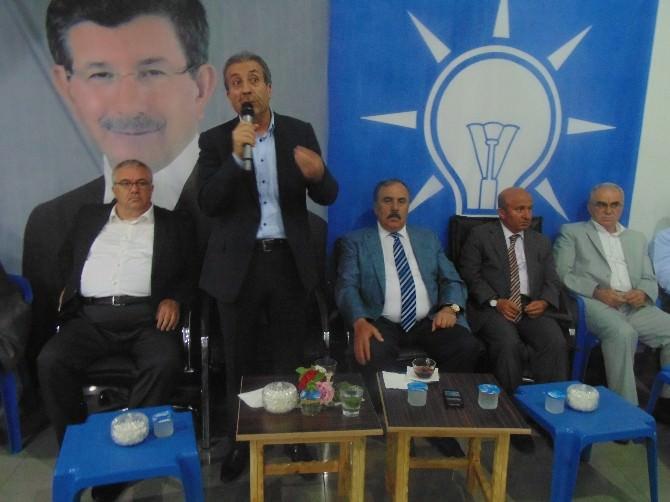 Bakan Eker'den Ensarioğlu'na Destek Ziyareti