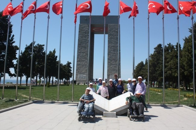 Gördesli Engelliler Çanakkale Gezisi