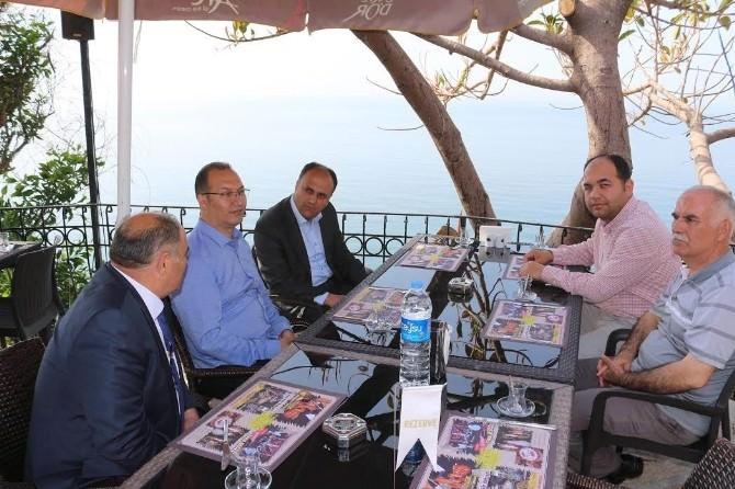 Başkan Özaltun Antalya'da Beyşehirlilerle Buluştu
