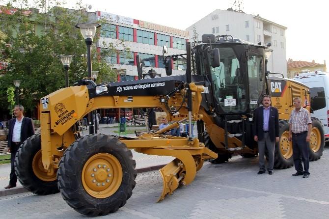 Cihanbeyli Belediyesi Araç Filosunu Güçlendiriyor