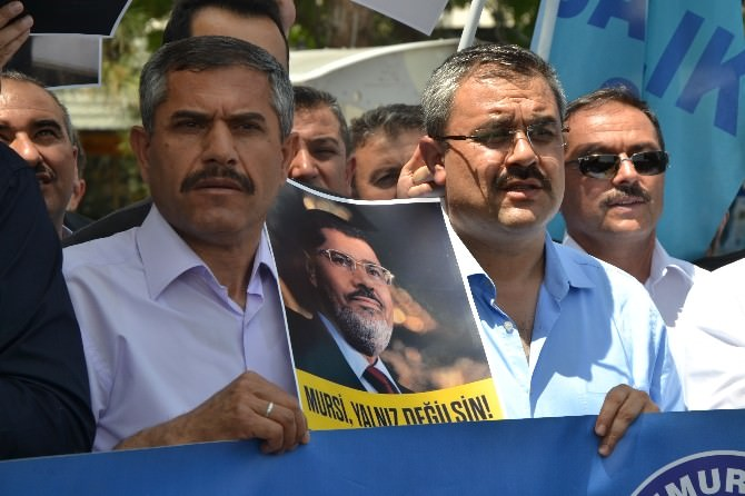 Memur-sen İl Temsilciliği Mursi'ye Verilen İdam Cezasını Protesto Etti