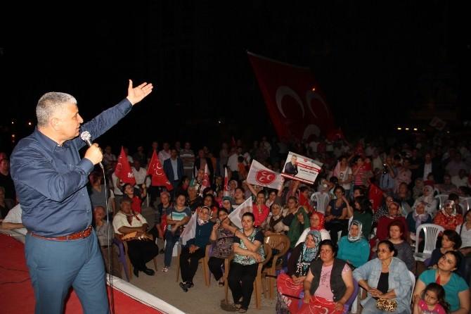 MHP'li Yılmaz: Milletimiz Kirli Oyunu Bozacak