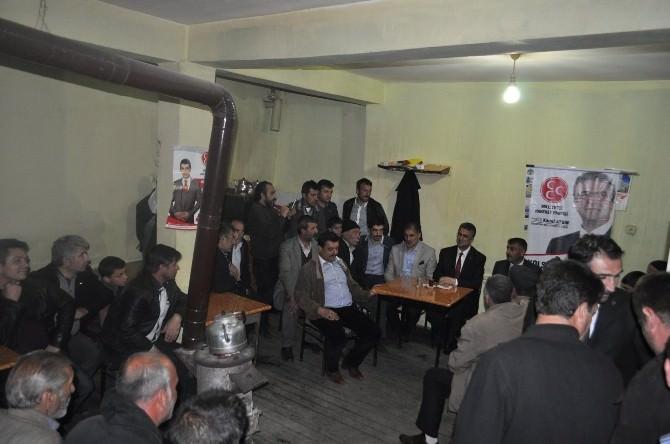 MHP Adayları Aydın Ve Kaya Tortum'da