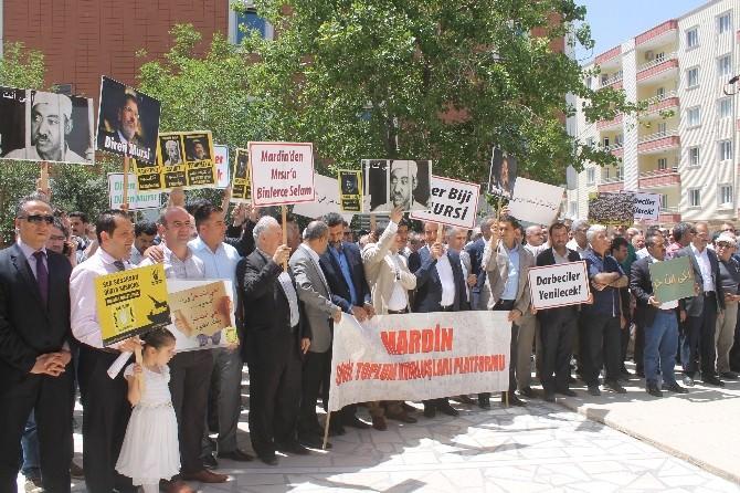 Mardinlilerden Mursi'nin İdam Kararına Kitlesel Tepki