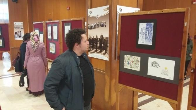 Karikatürcülerden 'Karma Karikatür Sergisi'