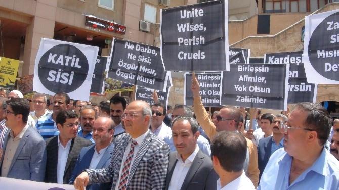 Mursi'nin İdam Kararı Protesto Edildi