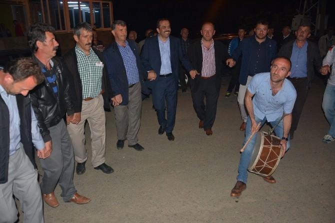 AK Parti Trabzon Milletvekili Adayı Muhammet Balta Seçim Gezilerini Sürdürüyor