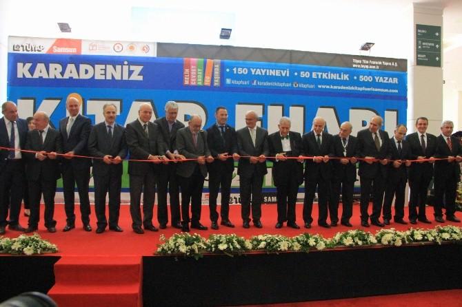 Karadeniz Kitap Fuarı Samsun'da Açıldı