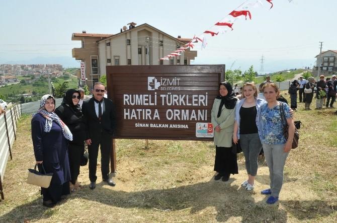 Sinan Balkan'ın Adı Hatıra Ormanında Yaşayacak