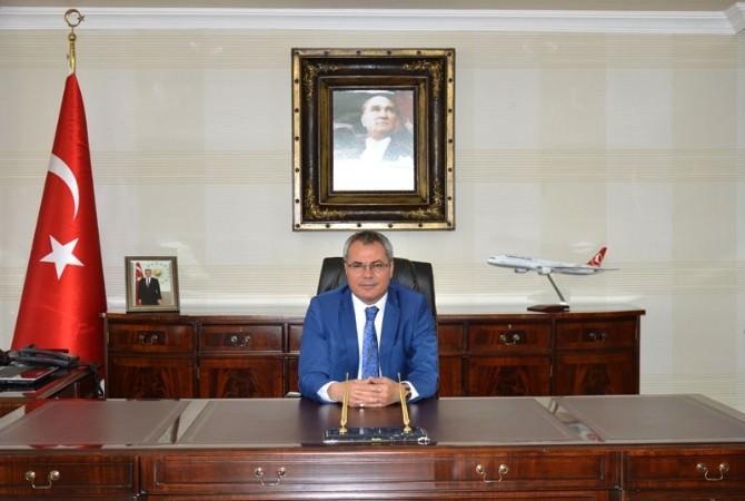 Vali Deniz'den 19 Mayıs Atatürk'ü Anma Gençlik Ve Spor Bayramı Mesajı