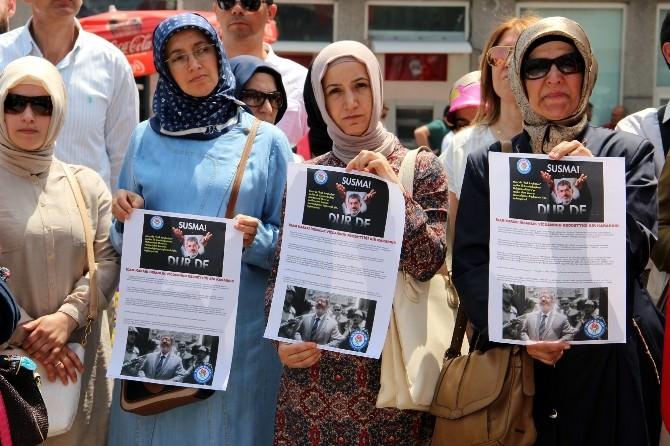 Mursi Hakkındaki İdam Kararı Yalova'da Protesto Edildi
