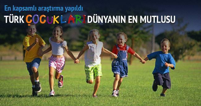 En mutlu çocuklar Türkiye'de