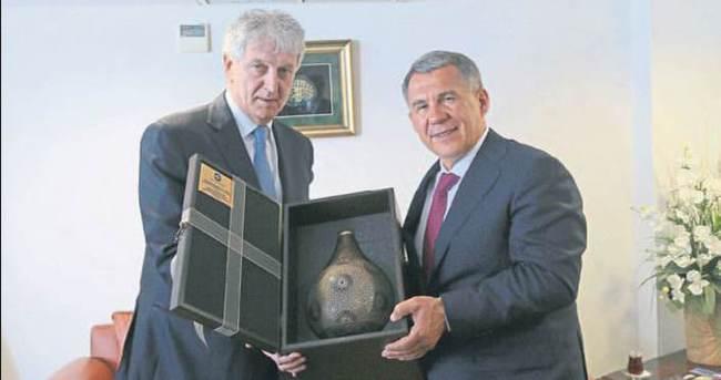 Tataristan'la ticaret hacmi artırılacak