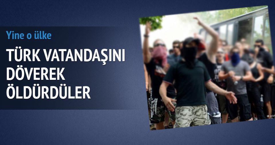 Almanya'da 5 Rus, 1 Türk'ü döverek öldürdü