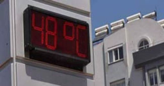Adana'da termometreler 48 dereceyi gösterdi