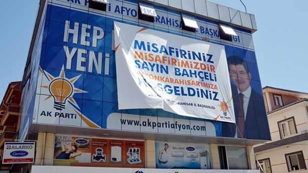 AK Parti'den Bahçeli'ye jest