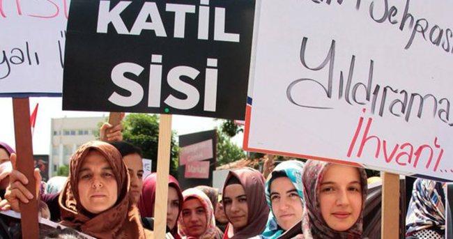 STK'lar Mursi'nin idam kararını protesto etti