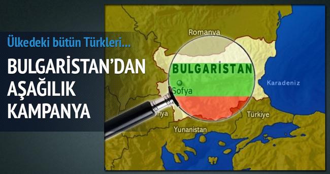 Bulgaristan'da Türklere karşı uygulanan asimilasyon kampanyası