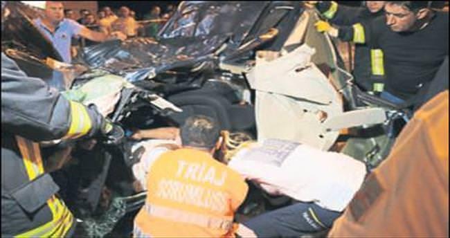 Denizli'de kaza: 1 ölü, 4 yaralı