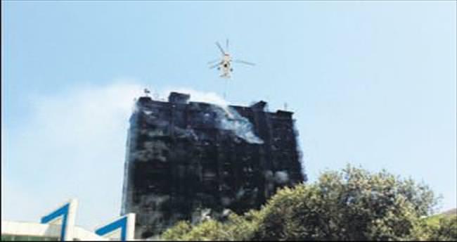 Bakü'de korkunç yangın: 14 ölü