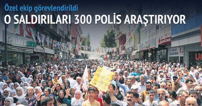 HDP'ye saldırıları 300 polis araştırıyor