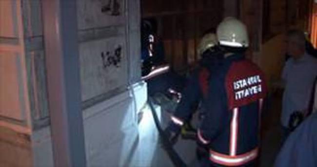 Taksim Tünel'de yangın paniği!