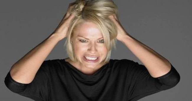 Kadınlar erkeklerden daha stresli