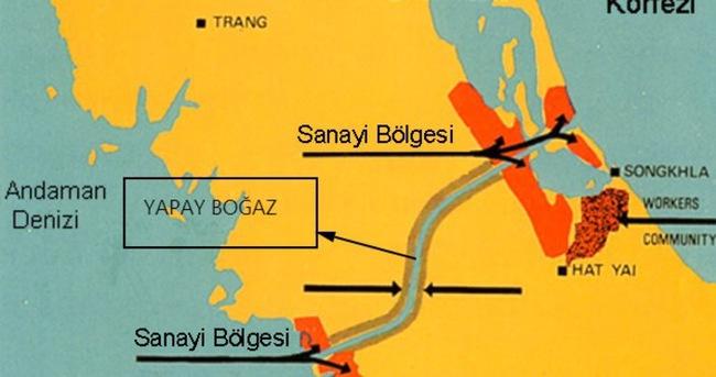 Çin petrol gemileri için kanal açıyor