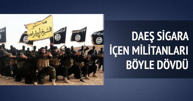 Sigara içerken yakalanan DAEŞ militanlarına ceza