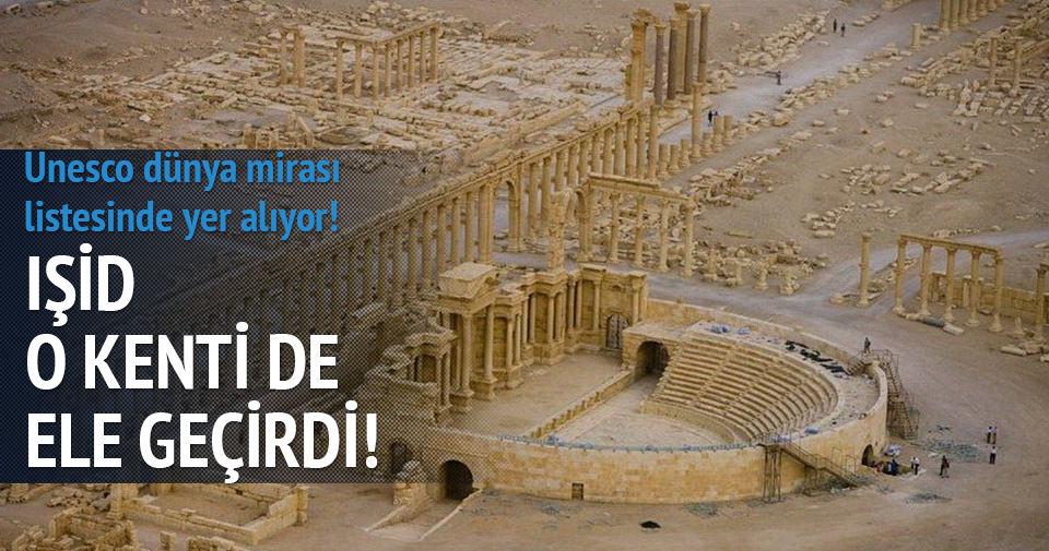 IŞİD Palmira'nın üçte birini ele geçirdi
