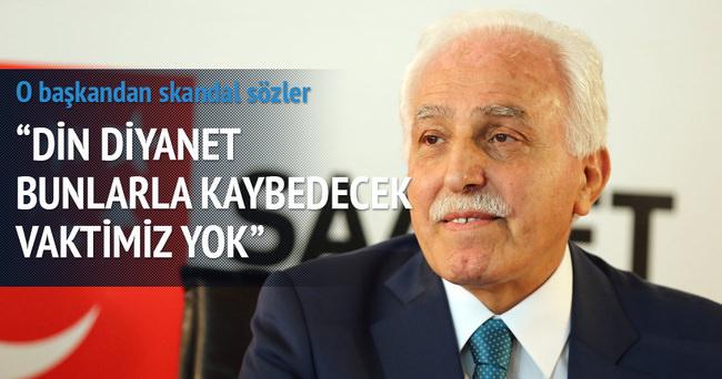 Mustafa Kamalak'tan tepki çeken sözler