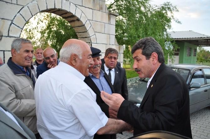 AK Parti Afyonkarahisar Milletvekili Adayı Ürün, Köyleri Geziyor