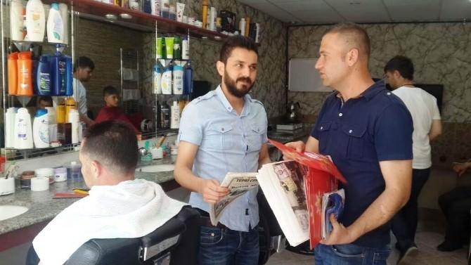 AK Gençlik'ten Eski Türkiye Gazetesi