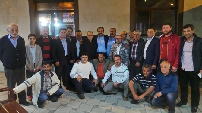 AK Parti Trabzon Milletvekili Adayı Muhammet Balta, Seçim Çalışmalarını Ortahisar'da Sürdürdü