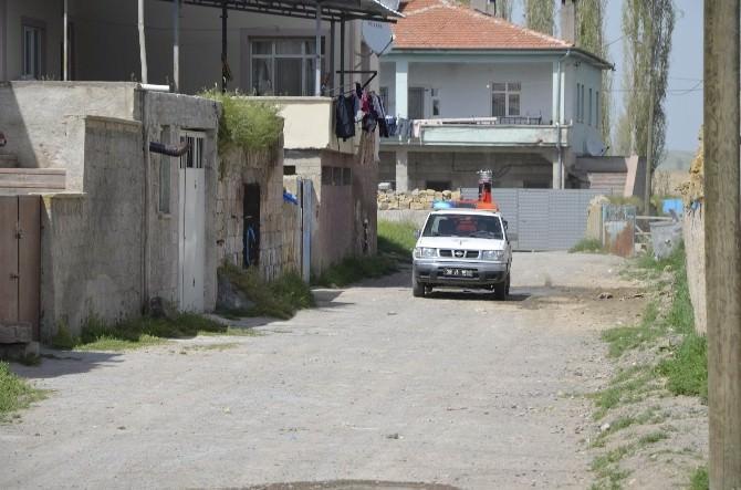Bünyan'da Haşeratla Mücadele Devam Ediyor