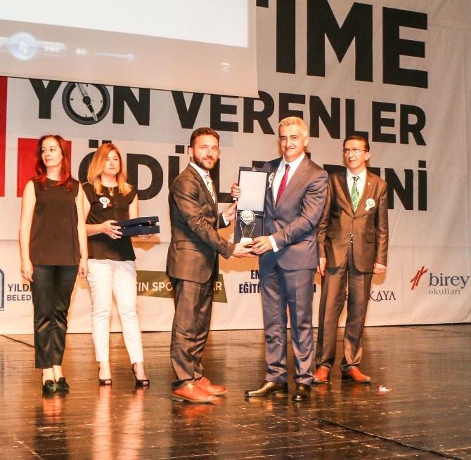 Bursagaz Egd'ye Eğitime Destek Ödülü
