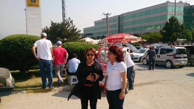Türkiye Milletvekili Biçer'den Renault İşçilerine Destek