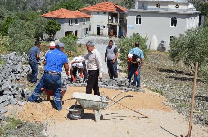 Dalaman'ın Mahallelerinde Üst Yapı Çalışmaları Başladı