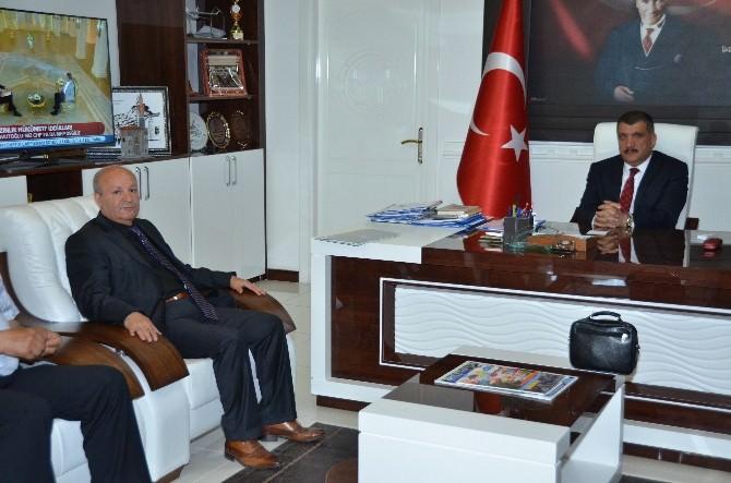 Emlakçılar Odası'ndan, Başkan Gürkan'a Ziyaret