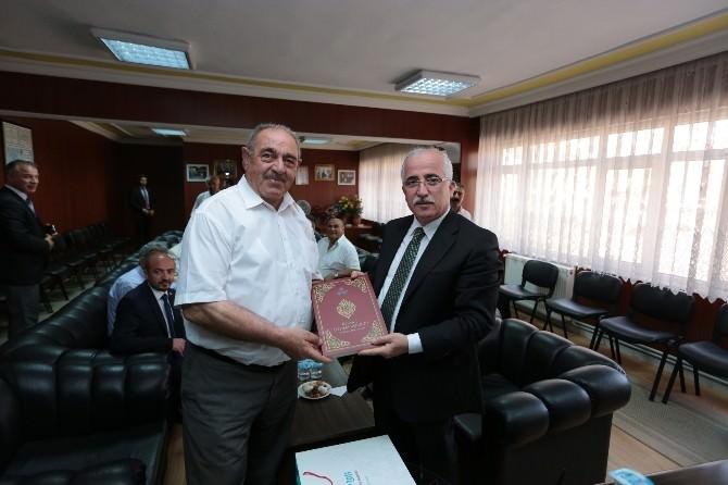 Vali Tuna'dan Başkan Kılıç'a Ziyaret