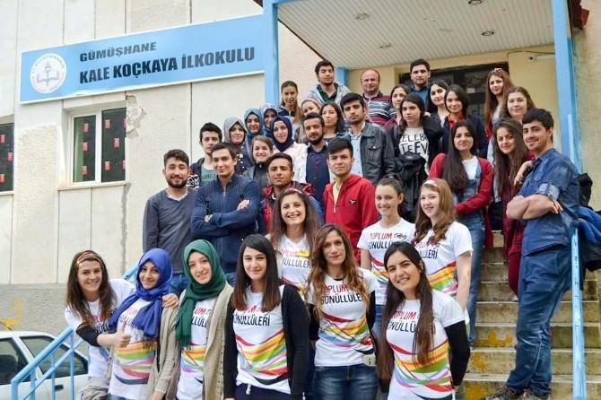 Gümüşhane'de Üniversite Öğrencilerinden Sosyal Sorumluluk Örneği
