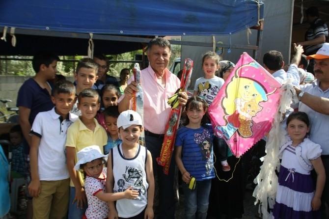 Erzin'de Uçurtma Şenliği