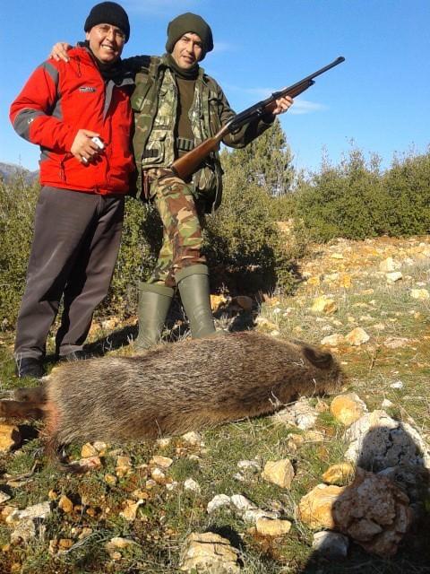 Karaman'da Yaban Domuzlarına Sürek Avı