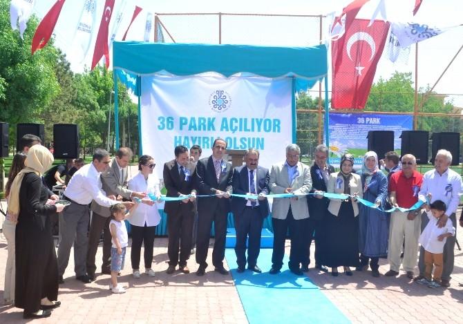 Selçuklu Belediyesi 36 Parkın Açılışını Gerçekleştirdi