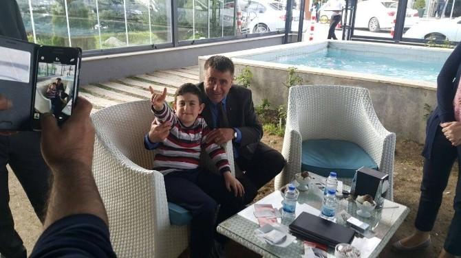 MHP Adayları Çimen Ve Hızarcı OSB'de…