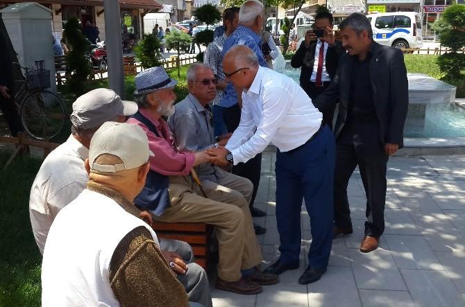 MHP Milletvekili Gönen, Meram'da Esnafları Ziyaret Etti