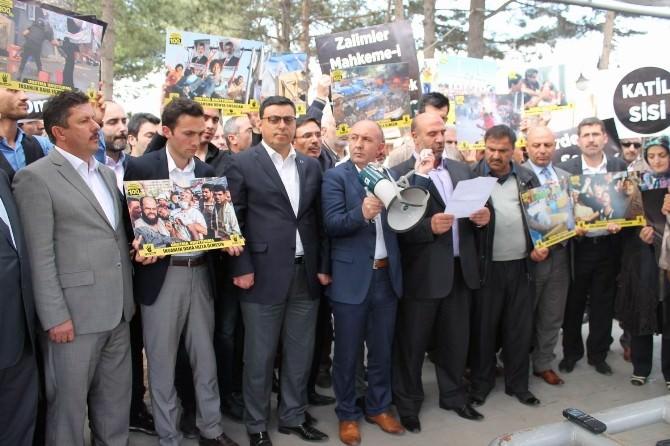 Mursi'nin İdam Kararına Erzincan'dan Tepki